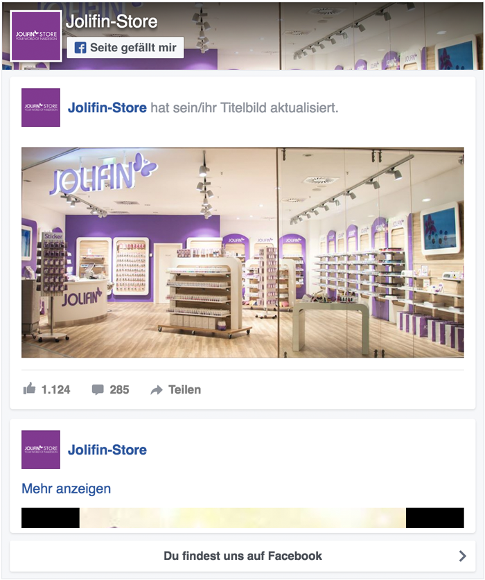 Jolifin Facebook Stream